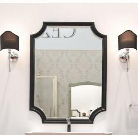 Зеркало Aqwella 5 stars LaDonna 75 цвет черный матовый