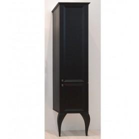 Шкаф колонна Aqwella 5 stars LaDonna цвет черный матовый