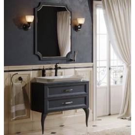 Мебель для ванной Aqwella 5 stars LaDonna 85 цвет черный матовый