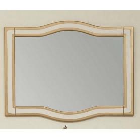 Зеркало Timo Elsa 120 M 120х78,5 цвет слоновая кость с золотом