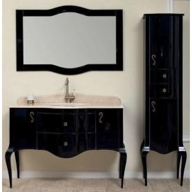 Мебель для ванной Timo Elsa M-VR 120х57 цвет черный ➦ Vanna-retro.ru