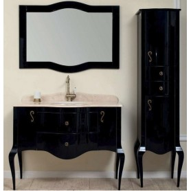Мебель для ванной Timo Elsa M-VR 110х57 цвет черный
