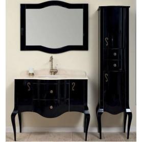 Мебель для ванной Timo Elsa M-VR 100х57 цвет черный ➦ Vanna-retro.ru