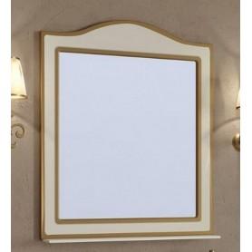 Зеркало Timo Ellen Plus M 100х89 цвет avario кремовый с золотом