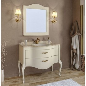 Мебель для ванной Timo Ellen Plus M-V 90х58 цвет avario (кремовый)
