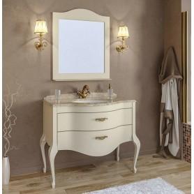 Мебель для ванной Timo Ellen Plus M-V 100х58 цвет avario (кремовый)