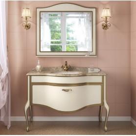 Мебель для ванной Timo Ellen Plus M-V1 120х58 цвет avario (кремовый) с золотом