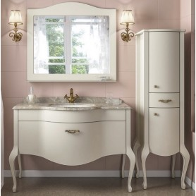 Мебель для ванной Timo Ellen Plus M-V1 120х58 цвет белый