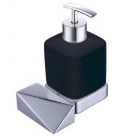 Дозатор Boheme New Venturo 10317-CR-B черная керамика
