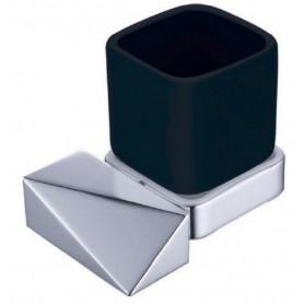 Стакан Boheme New Venturo 10314-CR-B черная керамика