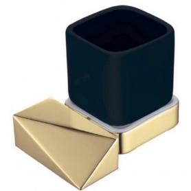 Стакан Boheme New Venturo 10314-G-B черная керамика