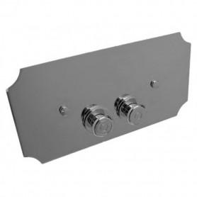 Кнопка смыва Devon&Devon DEPLCR для встроенного бачка ➦
