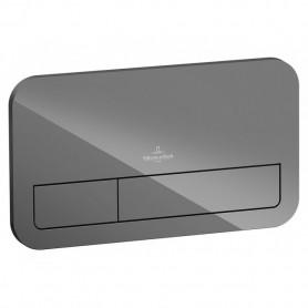 Кнопка смыва Villeroy & Boch Viconnect 922400RA серый глянцевый