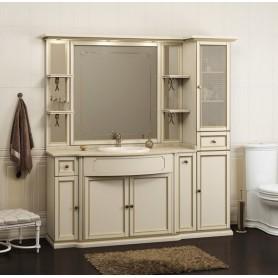 Мебель для ванной Опадирис Корсо Оро цвет слоновая кость ➦ Vanna-retro.ru