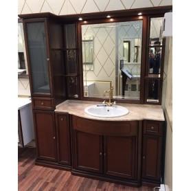 Мебель для ванной Опадирис Корсо Оро цвет орех