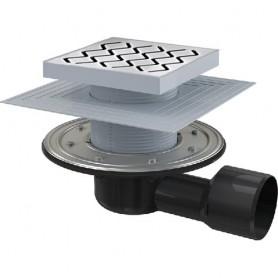 Пластиковый душевой канал Ravak SN501 105 - решетка нержавейка