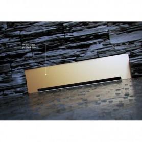 Душевой лоток Pestan Confluo Premium Wall Drain Gold пристенный