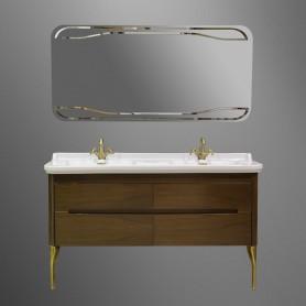 Мебель для ванной Kerasan Waldorf 919146 (цвет орех) ➦ Vanna-retro.ru
