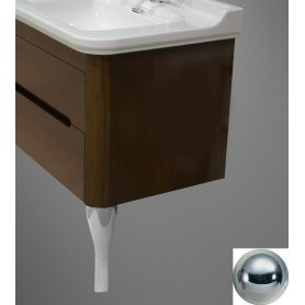 Ножки (пара) для мебели Kerasan Waldorf 919490 (цвет хром) -