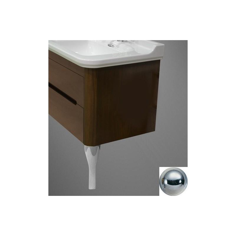 Ножки (пара) для мебели Kerasan Waldorf 919490 (цвет хром) ➦ Vanna-retro.ru
