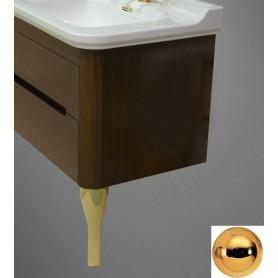 Ножки (пара) для мебели Kerasan Waldorf 919491 (цвет золото) -