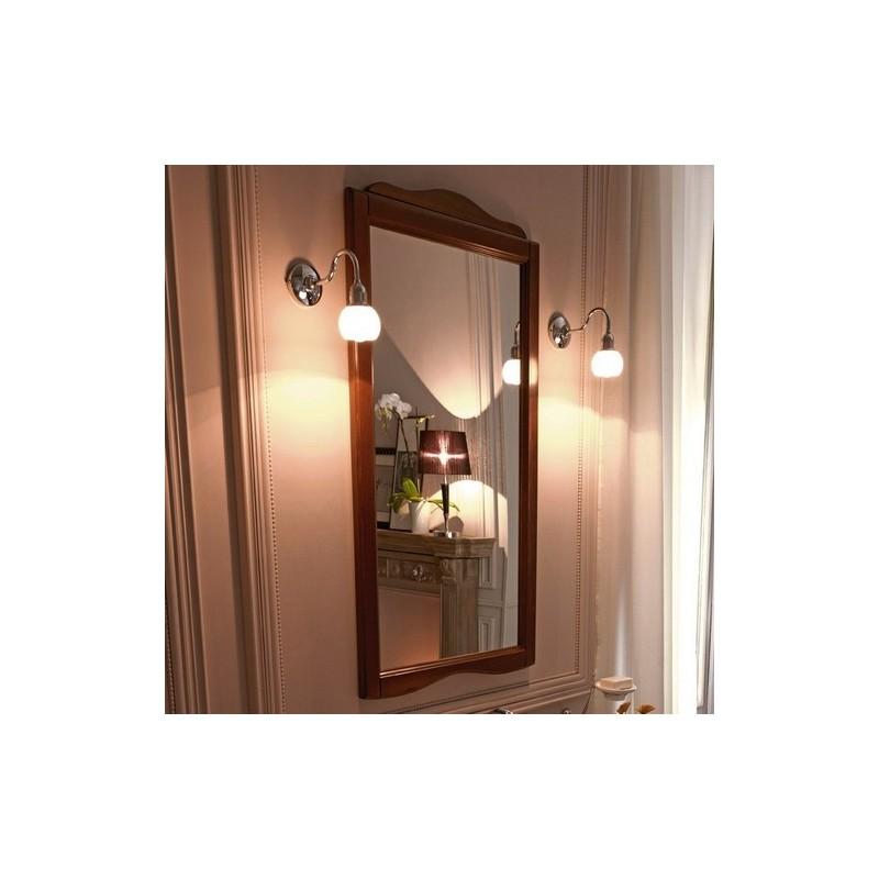 Зеркало в деревянной раме Kerasan Retro 7313 ➦ Vanna-retro.ru