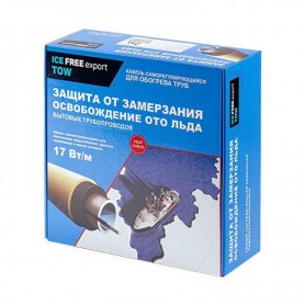 Обогрев трубопроводов «Теплый пол №1» Ice Free T-17-002-1 ➦