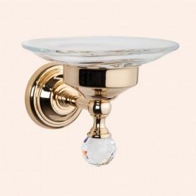Мыльница Tiffany World Crystal TWCR106oro, цвет: золото ➦ Vanna-retro.ru