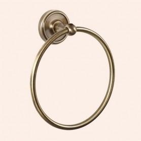 Полотенцедержатель кольцо Tiffany World Bristol TWBR015, цвет: бронза ➦