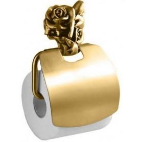 Бумагодержатель закрытый Art Max Rose AM-0919-Do в цвете золото ➦ Vanna-retro.ru
