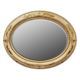 Зеркало Tiffany World, TW03529avorio/oro, цвет рамы слоновая кость/золото ➦