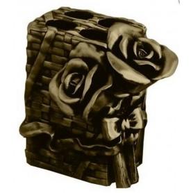 Держатель зубных щеток Art Max Rose AM-0091B-B в цвете бронза ➦ Vanna-retro.ru