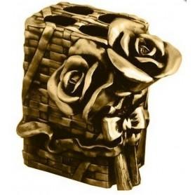 Держатель зубных щеток Art Max Rose AM-0091B-Do в цвете золото ➦ Vanna-retro.ru