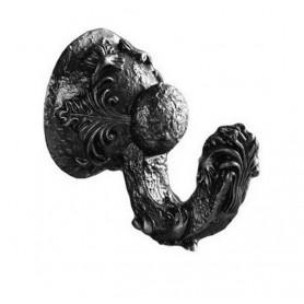Крючок Art Max Sculpture AM-0682-T в цвете серебро ➦ Vanna-retro.ru