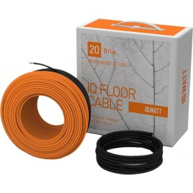 Теплый пол IQ Watt Floor cable: длина 25 м. ➦ Vanna-retro.ru