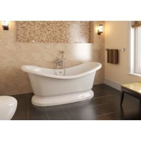 Фэма Стиль Габриэлла 189х87 ванна из искусственного камня на подиуме