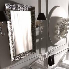 Зеркало Kerasan Retro 736402, рама в цвете серебро ➦ Vanna-retro.ru