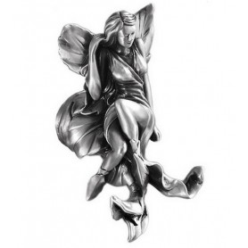 Крючок Art Max Fairy AM-0982-T в цвете серебро ➦ Vanna-retro.ru