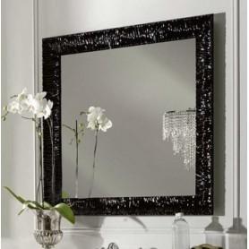 Зеркало Kerasan Retro 736401, рама в черном цвете ➦ Vanna-retro.ru