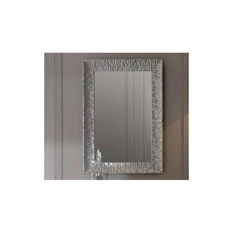 Зеркало Kerasan Retro 736502 рама в цвете серебро ➦ Vanna-retro.ru
