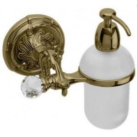 Дозатор жидкого мыла Art Max Barocco Crystal AM-1788-Br-C цвет бронза ➦