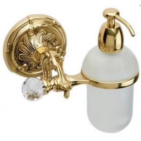 Дозатор жидкого мыла Art Max Barocco Crystal AM-1788-Do-Ant цвет античное золото ➦
