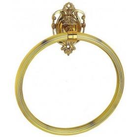 Полотенцедержатель кольцо Art Max Impero AM-1231-Do-Ant цвет античное золото ➦