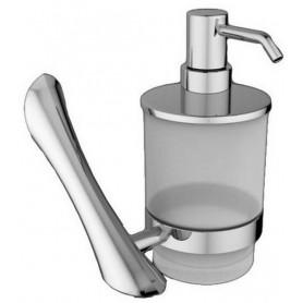 Дозатор жидкого мыла Art&Max Elegant AM-1599Z цвет хром ➦ Vanna-retro.ru