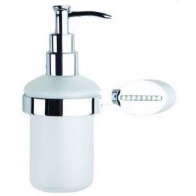Дозатор жидкого мыла Art Max Cristalli AM-4249 цвет хром ➦ Vanna-retro.ru