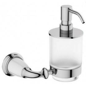 Дозатор жидкого мыла Art Max Bianchi AM-3698AW цвет хром ➦ Vanna-retro.ru