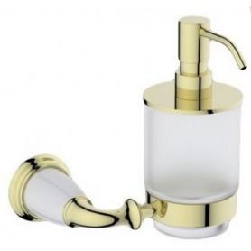 Дозатор жидкого мыла Art Max Bianchi AM-3698AW-Do цвет золото ➦ Vanna-retro.ru