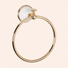 Полотенцедержатель Tiffany World Harmony TWHA015, цвет: золото