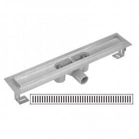Дренажный канал Gllon GL-SDL-02A60-DA660+FA600 с решеткой ➦