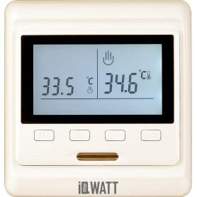Терморегулятор IQ Watt Thermostat P кремовый ➦ Vanna-retro.ru